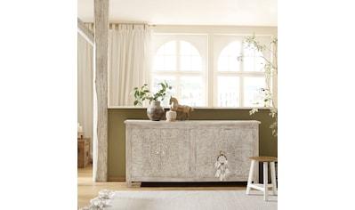 Home affaire Sideboard »Fenris«, aus massiven, pflegeleichten Mangoholz, mit... kaufen