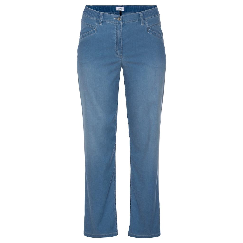 KjBRAND Straight-Jeans »Babsie: bequemer Oberschenkel«, mit Tencel™