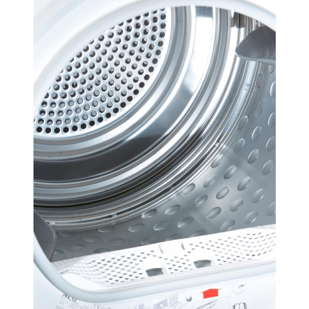 AEG Wärmepumpentrockner »T8DE86685«, LAVATHERM, AbsoluteCare für Wolle, Seide, Outdoor