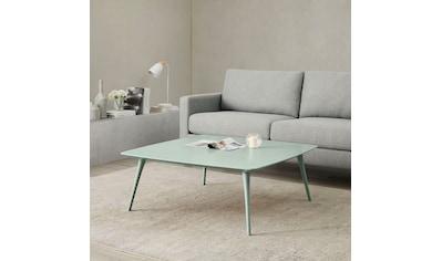 andas Couchtisch »Lisen«, Design by Morten Georgsen, Quadratisch, in 2 modernen Farben kaufen