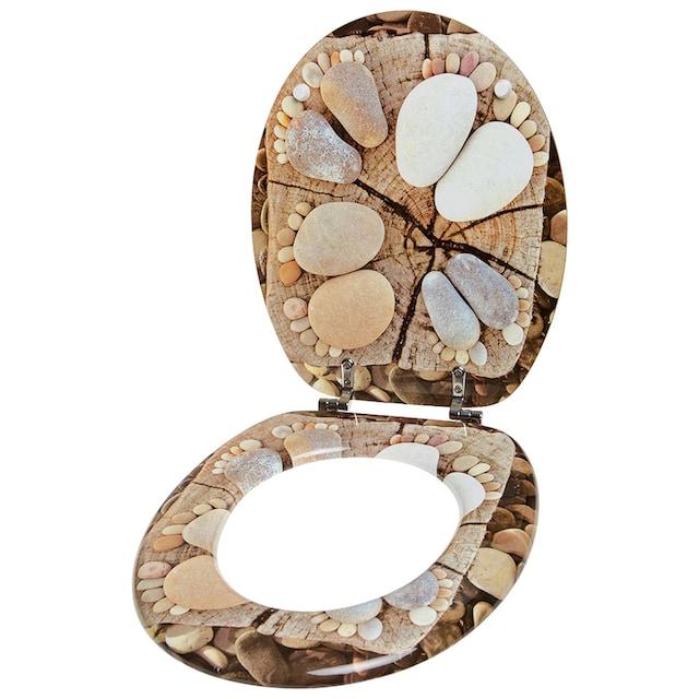 SANILO WC-Sitz »Stone Feet«