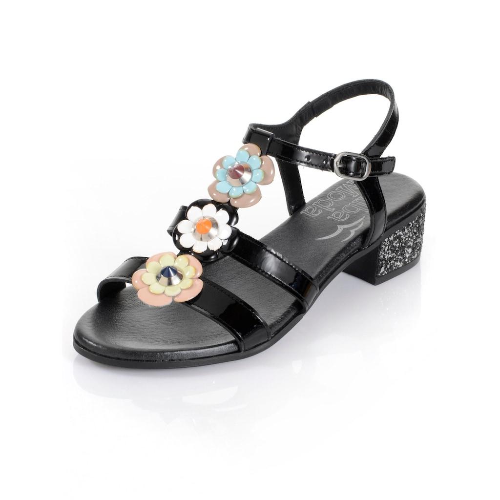 Alba Moda Sandalette aus Lackleder