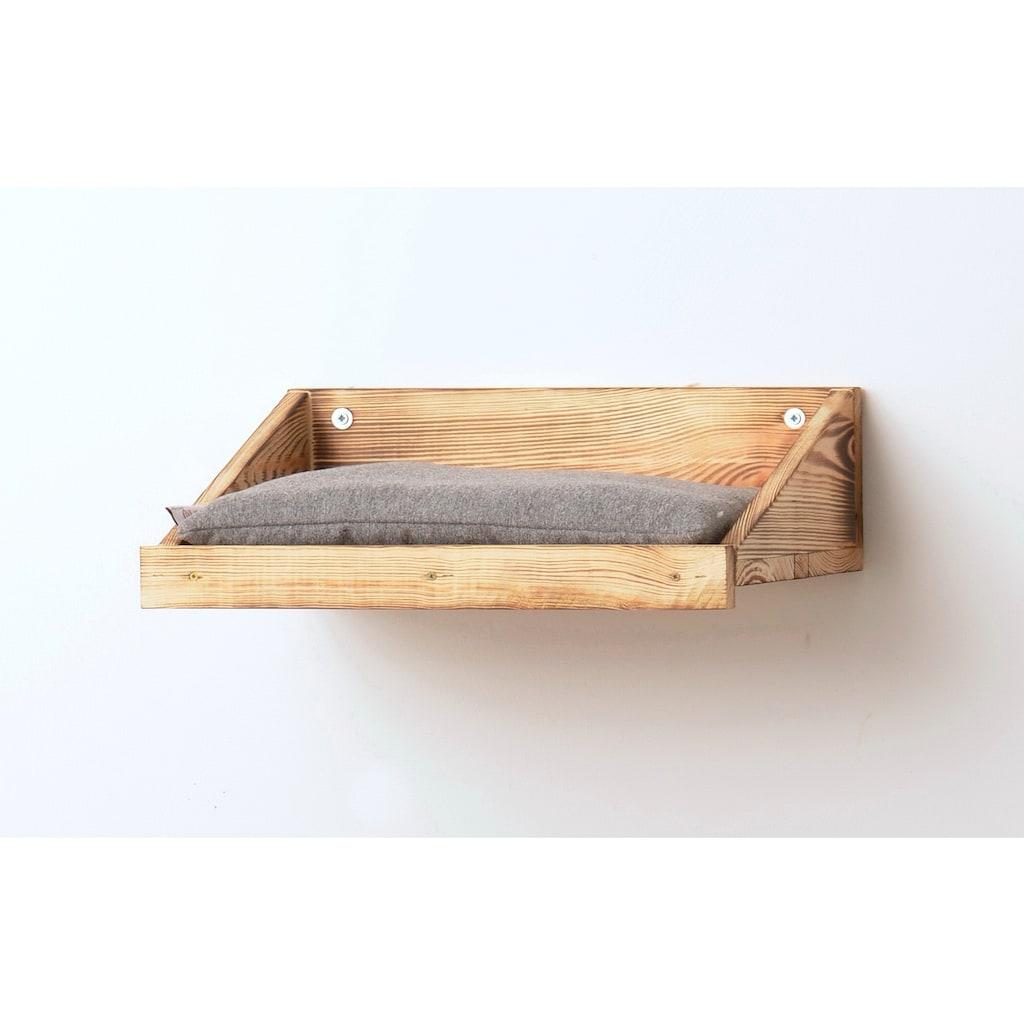 SILVIO design Katzen-Wandregal, 3er Set, BxLxH: 28x120x45 cm