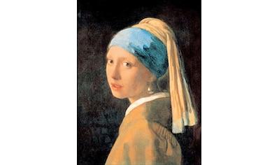 DELAVITA Bild mit Rahmen »VERMEER / Mädchen mit einem Perlenohrring«, (1 St.) kaufen