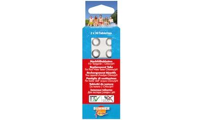 SUMMER FUN Poolpflege »Nachfülltabletten für Wassertestgerät Chlor/pH-Wert« kaufen