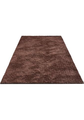 INOSIGN Hochflor-Teppich »Anton«, rechteckig, 30 mm Höhe, besonders weich durch Microfaser, Wohnzimmer kaufen