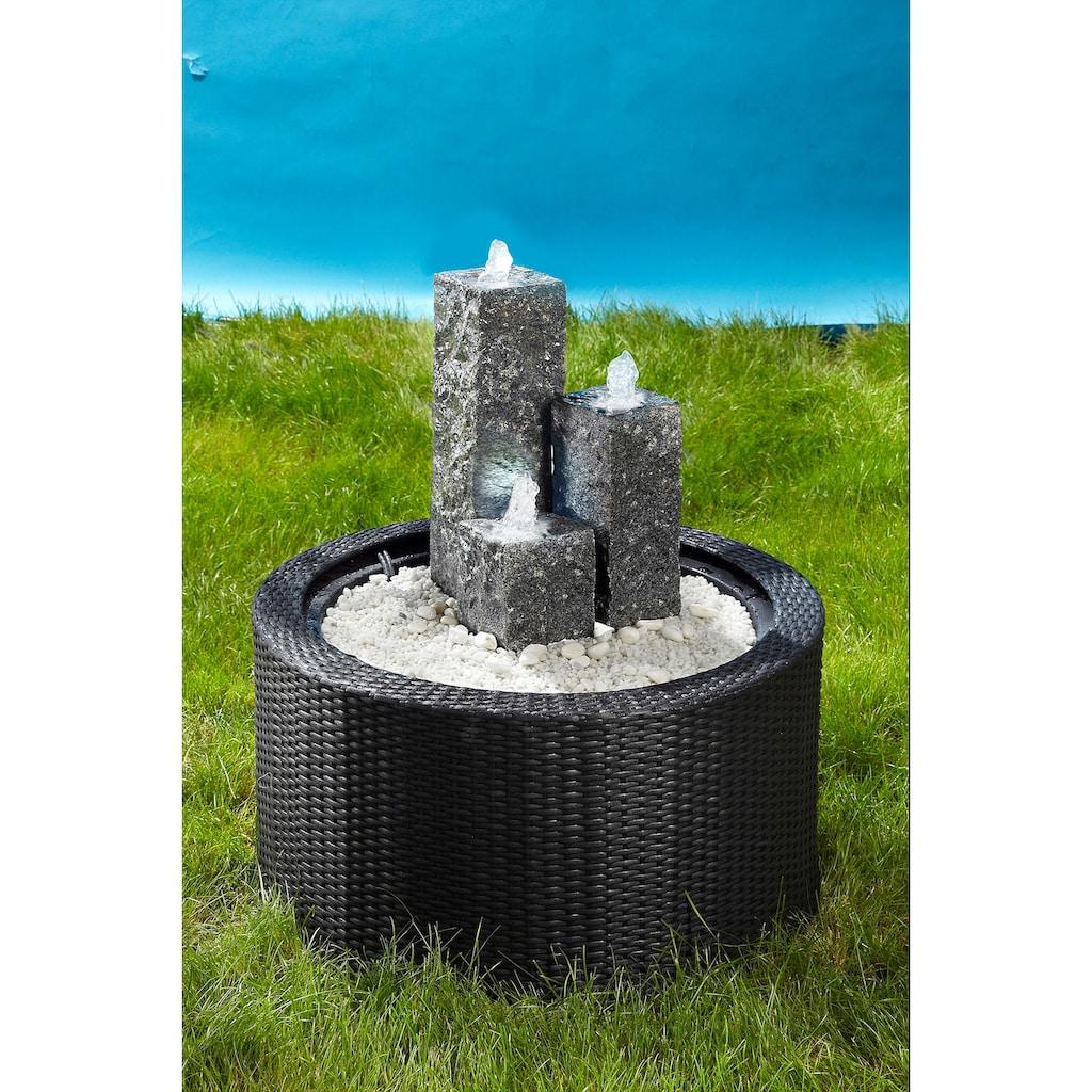 Ubbink Brunnenumrandung »DecoWall Wicker 1«