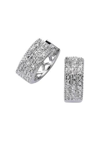 Diamonds by Ellen K. Creolen »585/ -  Weißgold Diamant 0,15ct.« kaufen