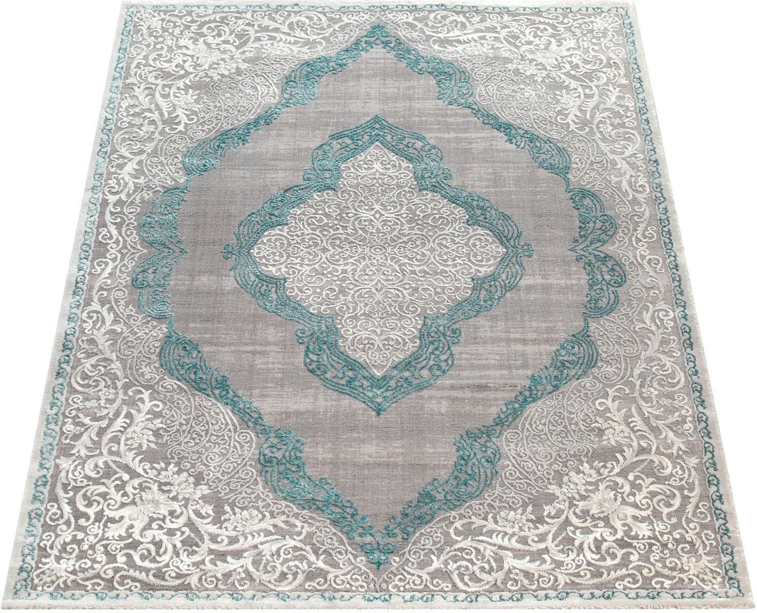 Teppich, Elizabeth 052, Paco Home, rechteckig, Höhe 16 mm, maschinell gewebt