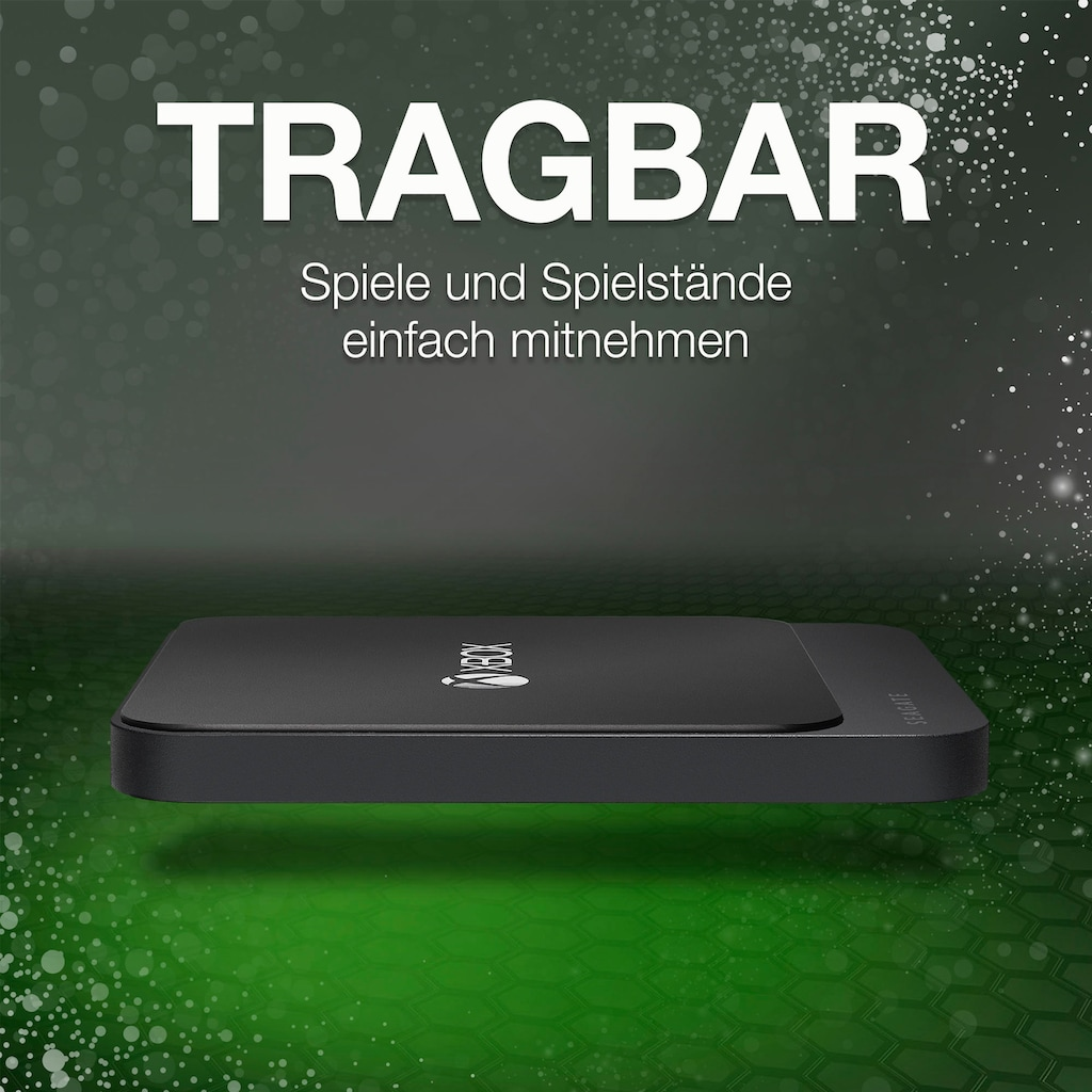 Seagate externe SSD »Game Drive für Xbox«, Inklusive 2 Jahre Rescue Data Recovery Services