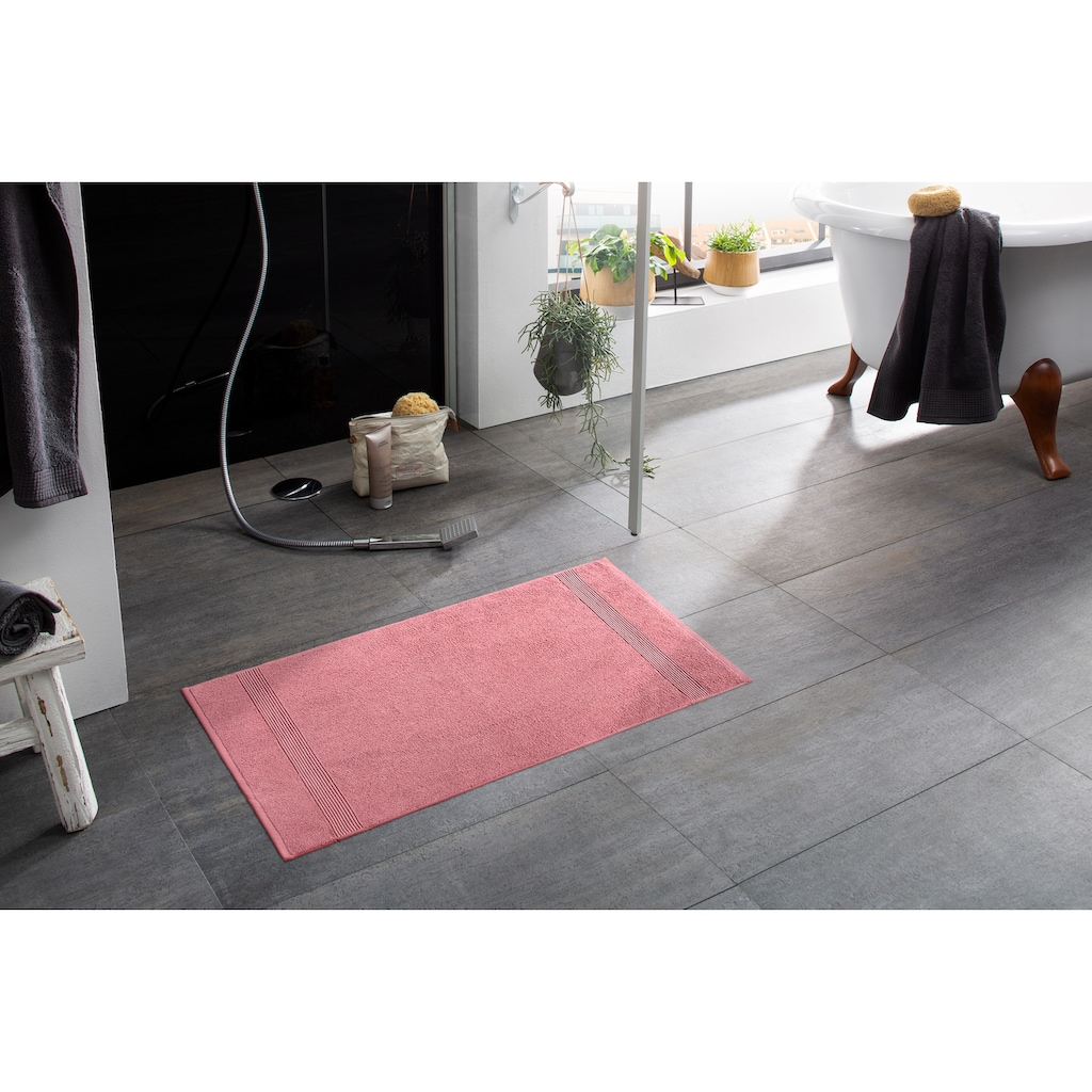 my home Badematte »Anna«, Höhe 4 mm, beidseitig nutzbar, 2-er Set