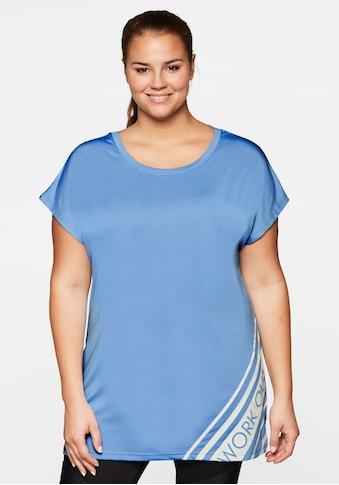 Sheego T-Shirt, mit atmungsaktiver, schnelltrocknender Funktion kaufen