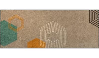 wash+dry by Kleen-Tex Läufer »Callisto«, rechteckig, 7 mm Höhe, In- und Outdoor... kaufen