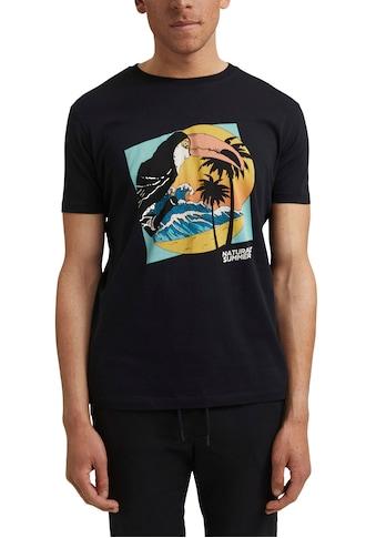 edc by Esprit Print-Shirt, mit witzigem Print kaufen