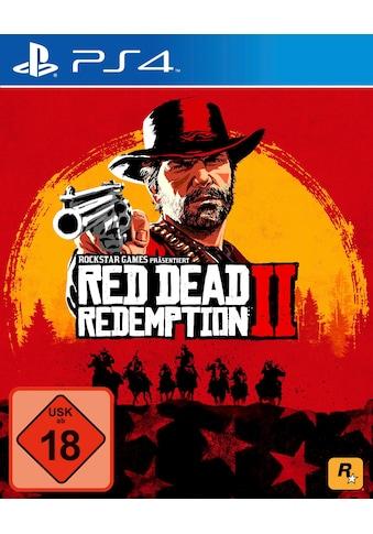 Rockstar Games Spiel »Red Dead Redemption 2«, PlayStation 4 kaufen