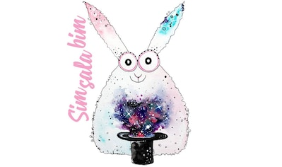 Wall-Art Wandtattoo »Magisch Kaninchen Sim Sala Bim« kaufen