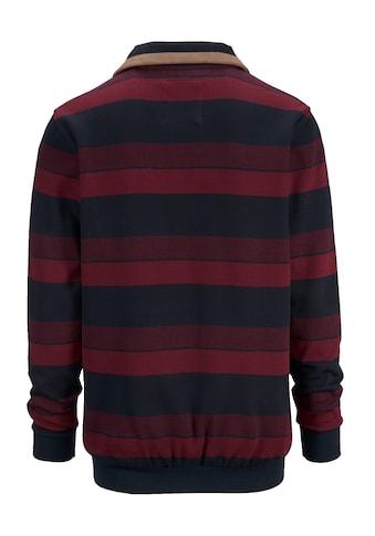 Babista Sweatshirt mit weichen Veloursbesätzen kaufen