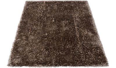 Hochflor - Teppich, »Minna«, DELAVITA, rechteckig, Höhe 55 mm, handgetuftet kaufen