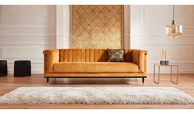 Guido Maria Kretschmer Home&Living 3-Sitzer »Chamby«, mit Holzrahmen unten und... kaufen