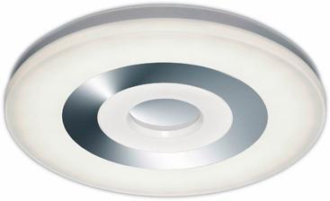 TRIO Leuchten LED Deckenleuchte SHAOLIN, LED-Board, Kaltweiß-Neutralweiß-Tageslichtweiß-Warmweiß, LED Deckenlampe