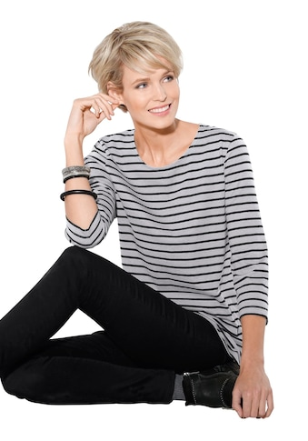 Classic Basics Shirt mit frechem Ringel - Muster kaufen