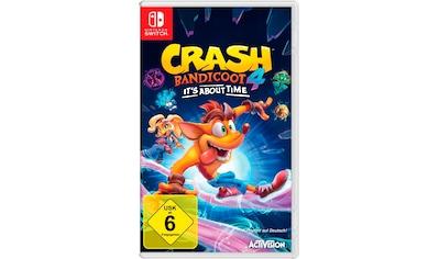 Activision Spiel »Crash Bandicoot 4: It's About Time«, Nintendo Switch kaufen