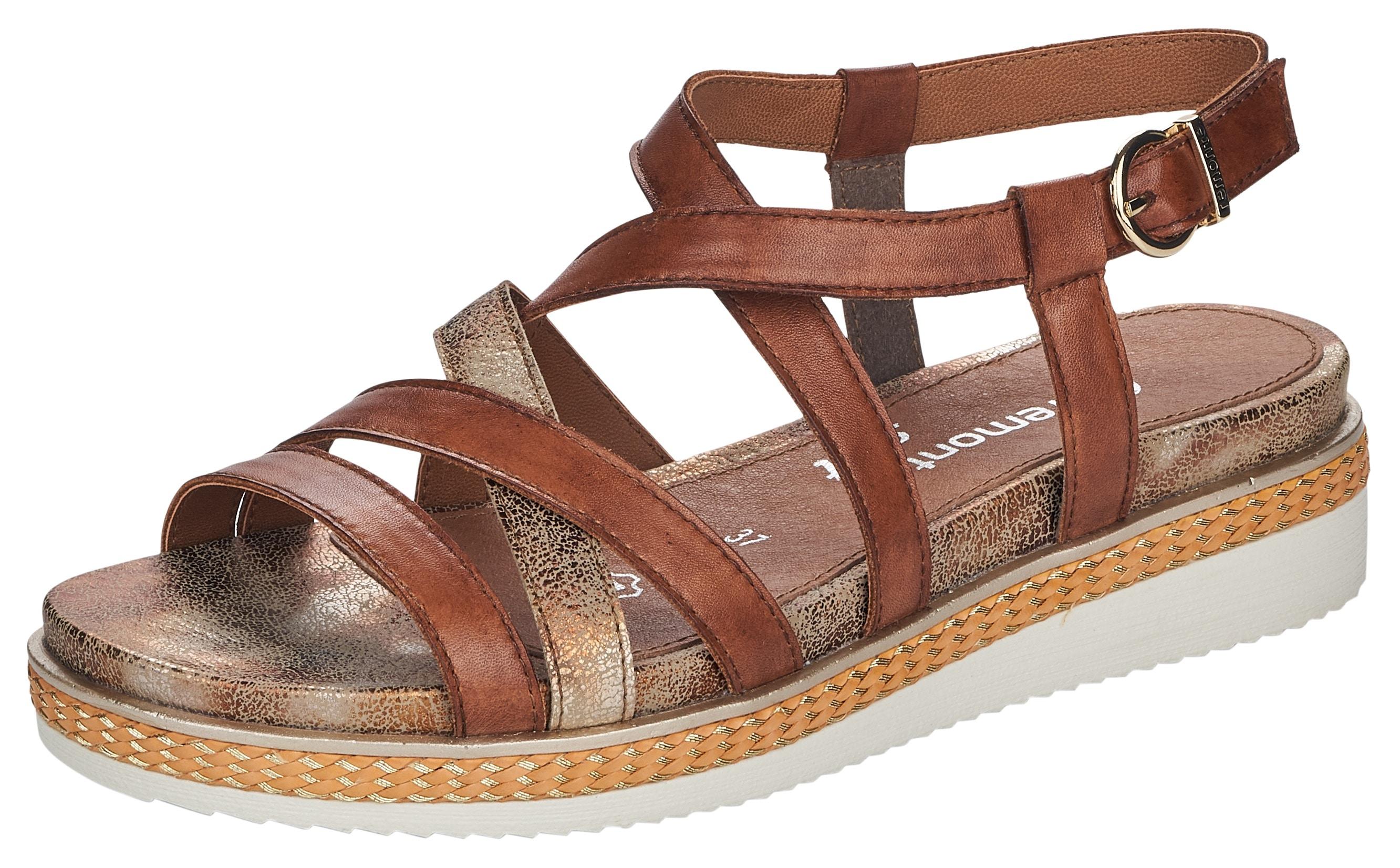 remonte -  Sandalette, mit verstellbarer Schnalle