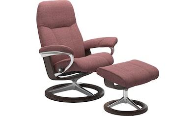 Stressless® Relaxsessel »Consul«, mit Hocker, mit Signature Base, Größe M, Gestell Wenge kaufen