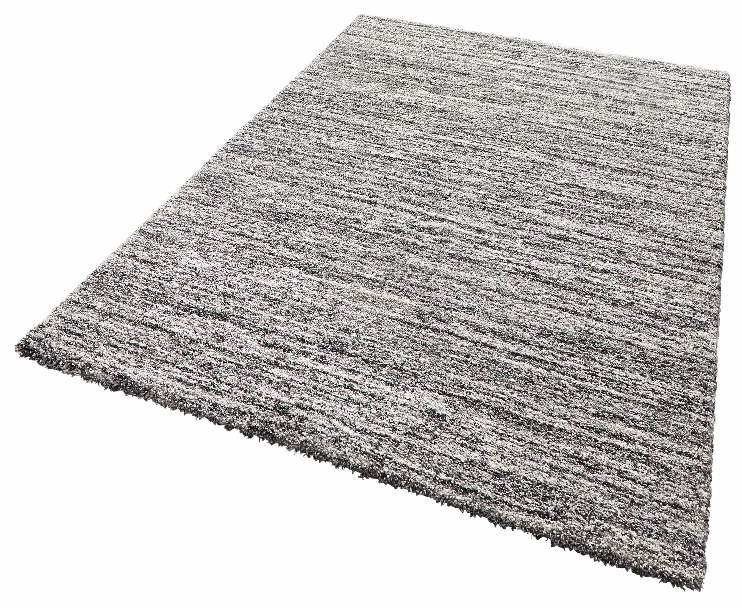 Hochflor-Teppich Gravel MINT RUGS rechteckig Höhe 25 mm