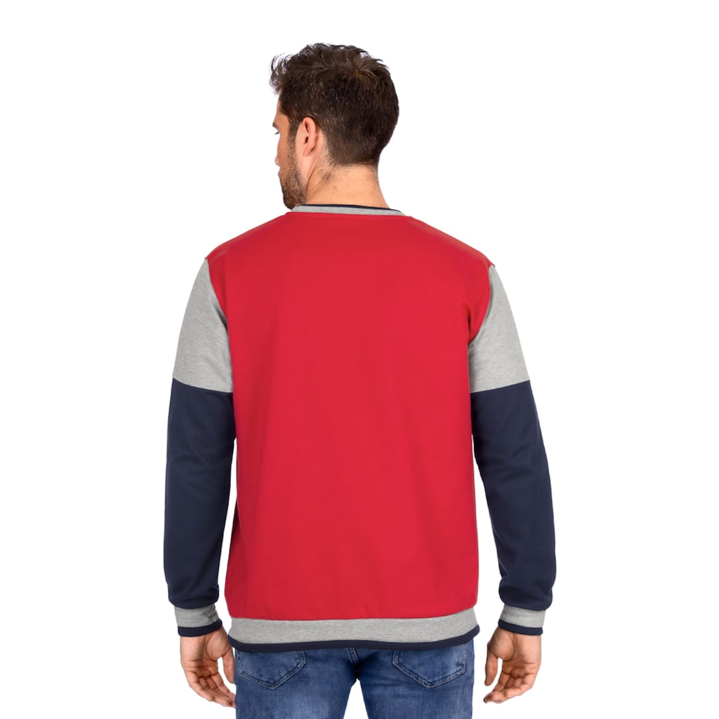 Trigema Sweatshirt, mit TRIGEMA-Logo