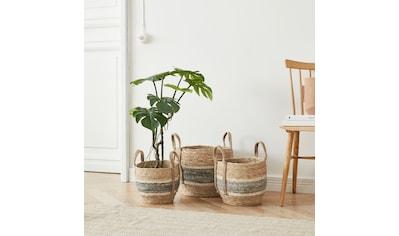 COUCH♥ Dekokorb »Körbchengrößen«, (Set, 3 St.), COUCH Lieblingsstücke kaufen