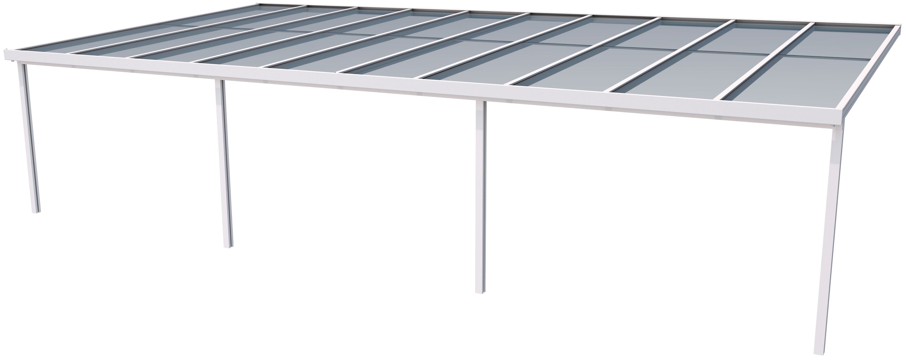 gutta terrassendach premium bxt 1014x506 cm dach acryl klima blue - GUTTA Terrassendach Premium, BxT: 1014x506 cm, Dach Acryl Klima blue , Gutta