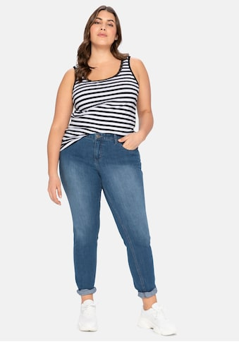 Sheego Stretch-Jeans, in schmaler Form kaufen