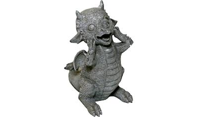 Casa Collection by Jänig Tierfigur, Drache hält beide Tatzen an die Wange, Höhe: 24,5 cm kaufen