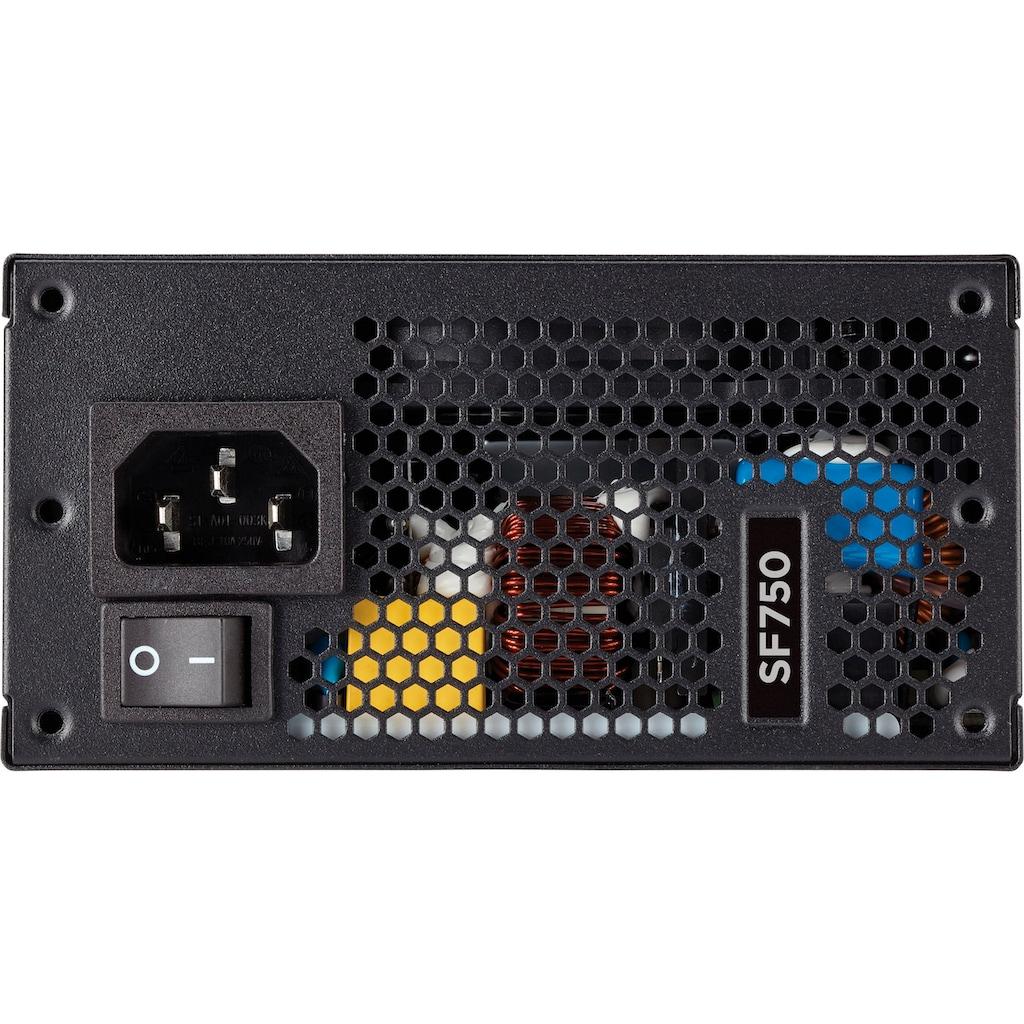 Corsair PC-Netzteil »SF Series SF750 Platinum«, siebenjährige Garantie