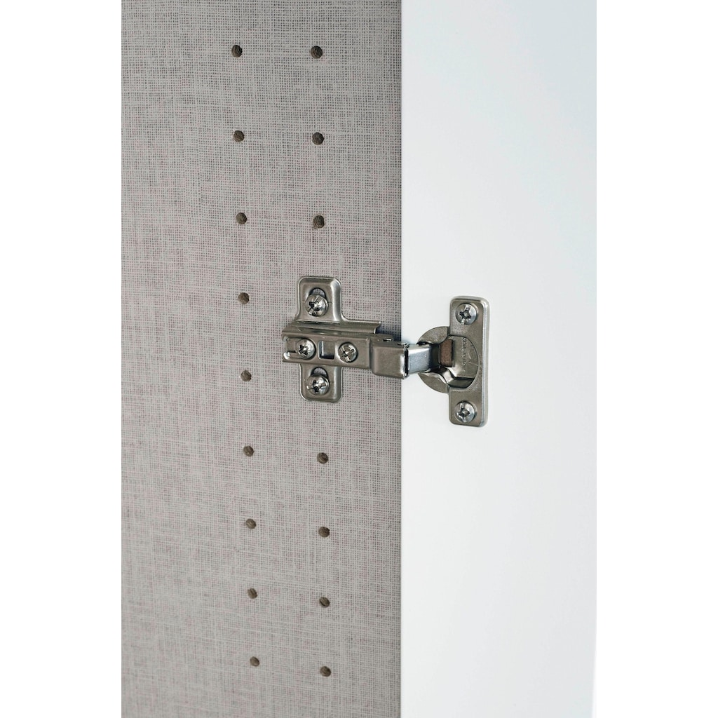 rauch ORANGE Schrank-Set »Skagen«, (3 tlg.), Eckschrank, 2- und 4-trg. Schrank mit Schubkästen und Spiegel