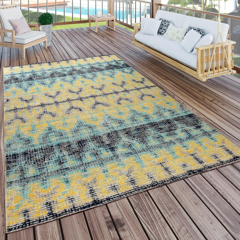 Teppich Artigo 417 Paco Home rund Höhe 11 mm maschinell gewebt