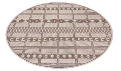 Teppich, »Yani«, Leonique, rund, Höhe 3 mm kaufen