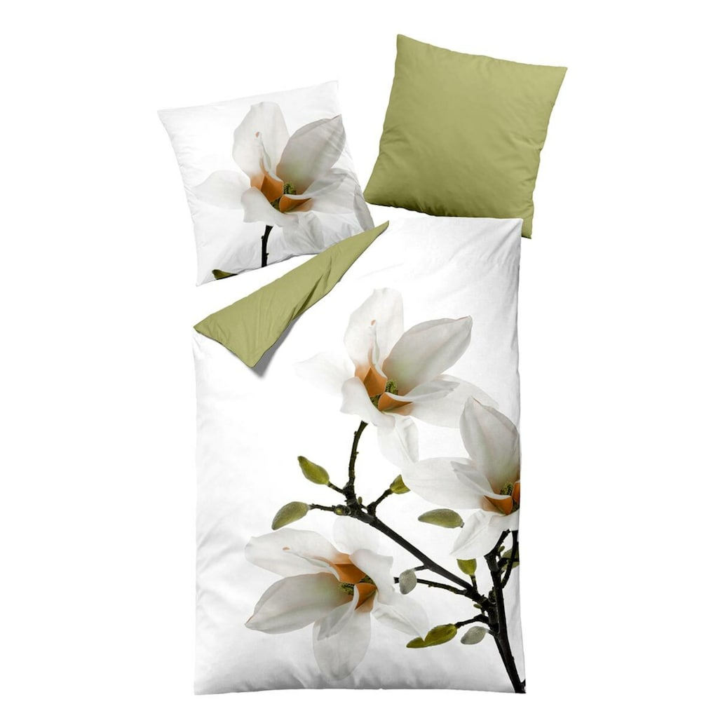 TRAUMSCHLAF Bettwäsche »Lilie«, besonders strapazierfähig