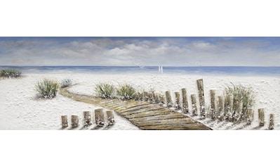 Spiegelprofi GmbH Ölbild »Beachy«, (1 St.) kaufen