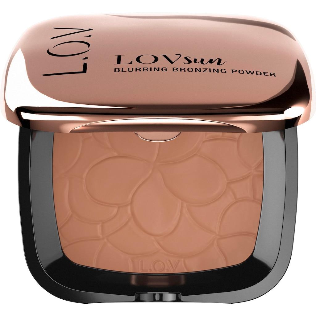 L.O.V Bronzer-Puder »LOVSUN blurring bronzing powder 010«