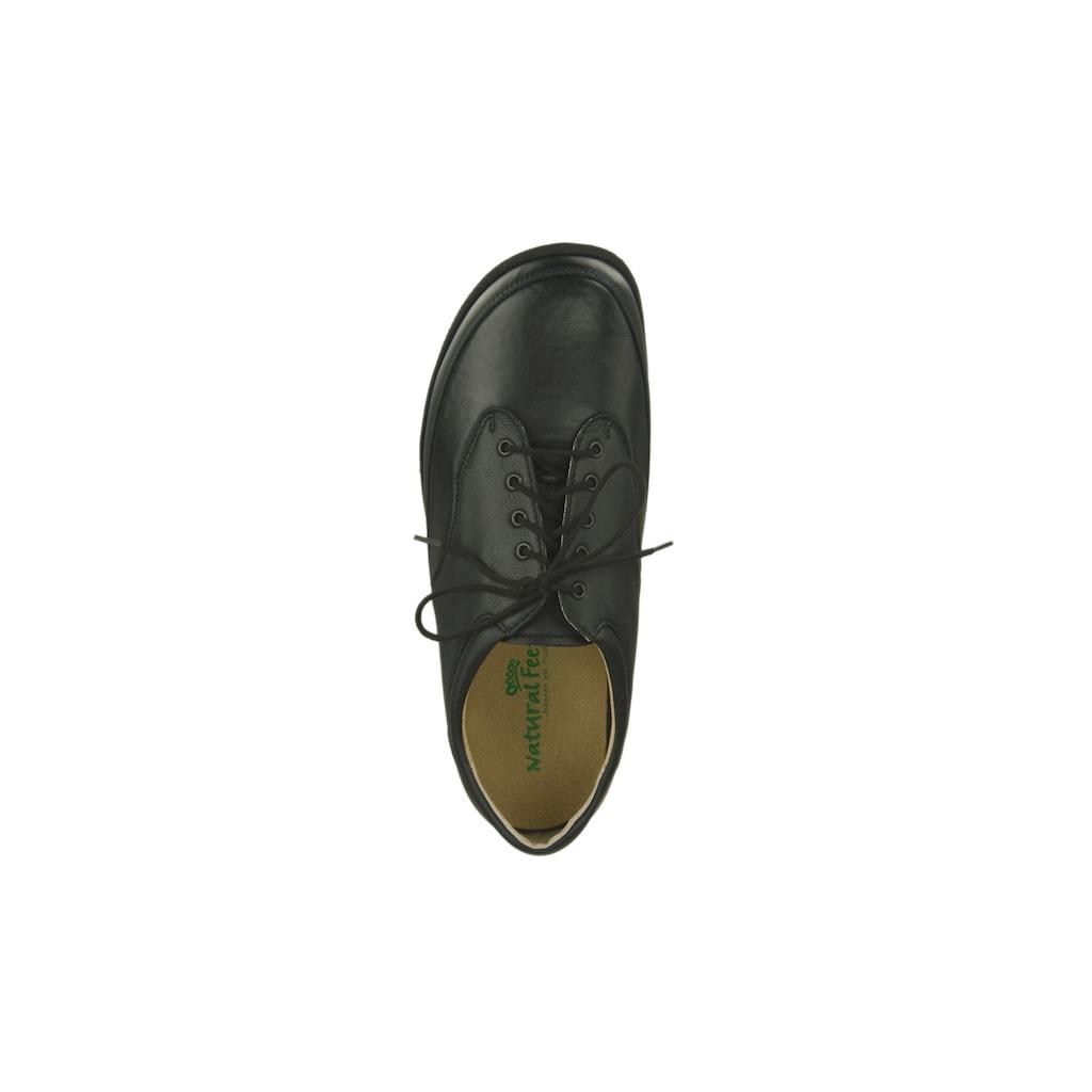 Natural Feet Schnürschuh »Paris«, mit bequemer Laufsohle
