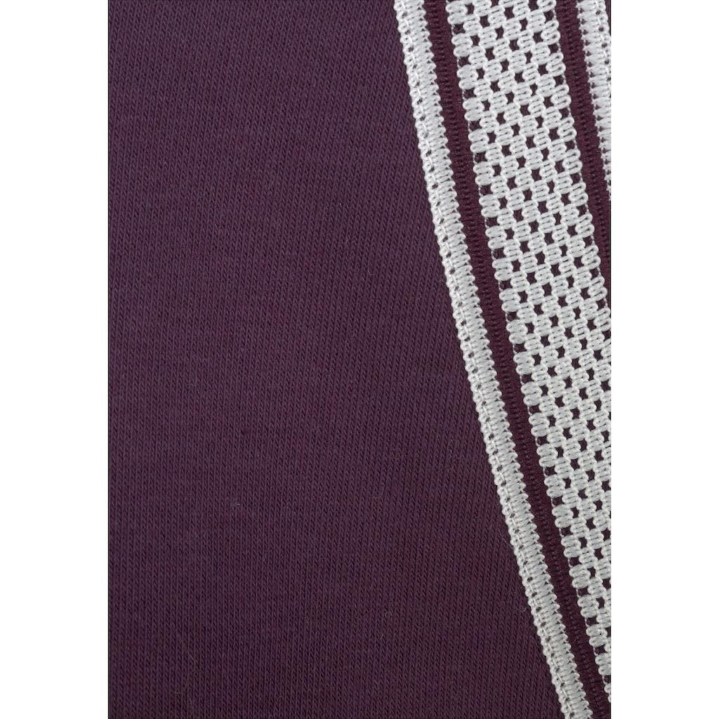 Bench. Kapuzensweatjacke, mit Logodruck in Metalloptik