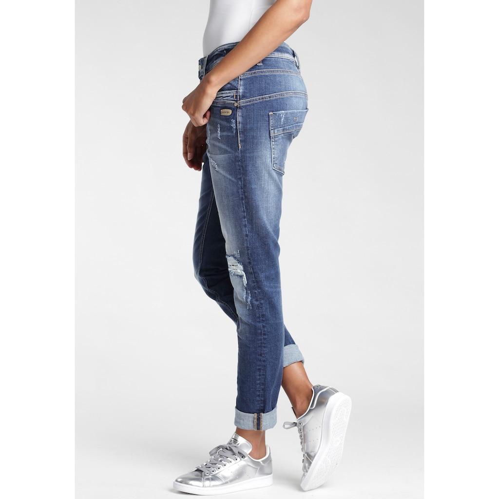 GANG 5-Pocket-Jeans »Gerda«, mit halb offener Knopfleiste