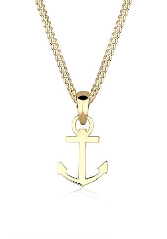 Elli Collierkettchen »Anker Heimatsymbol 585 Gelbgold« kaufen