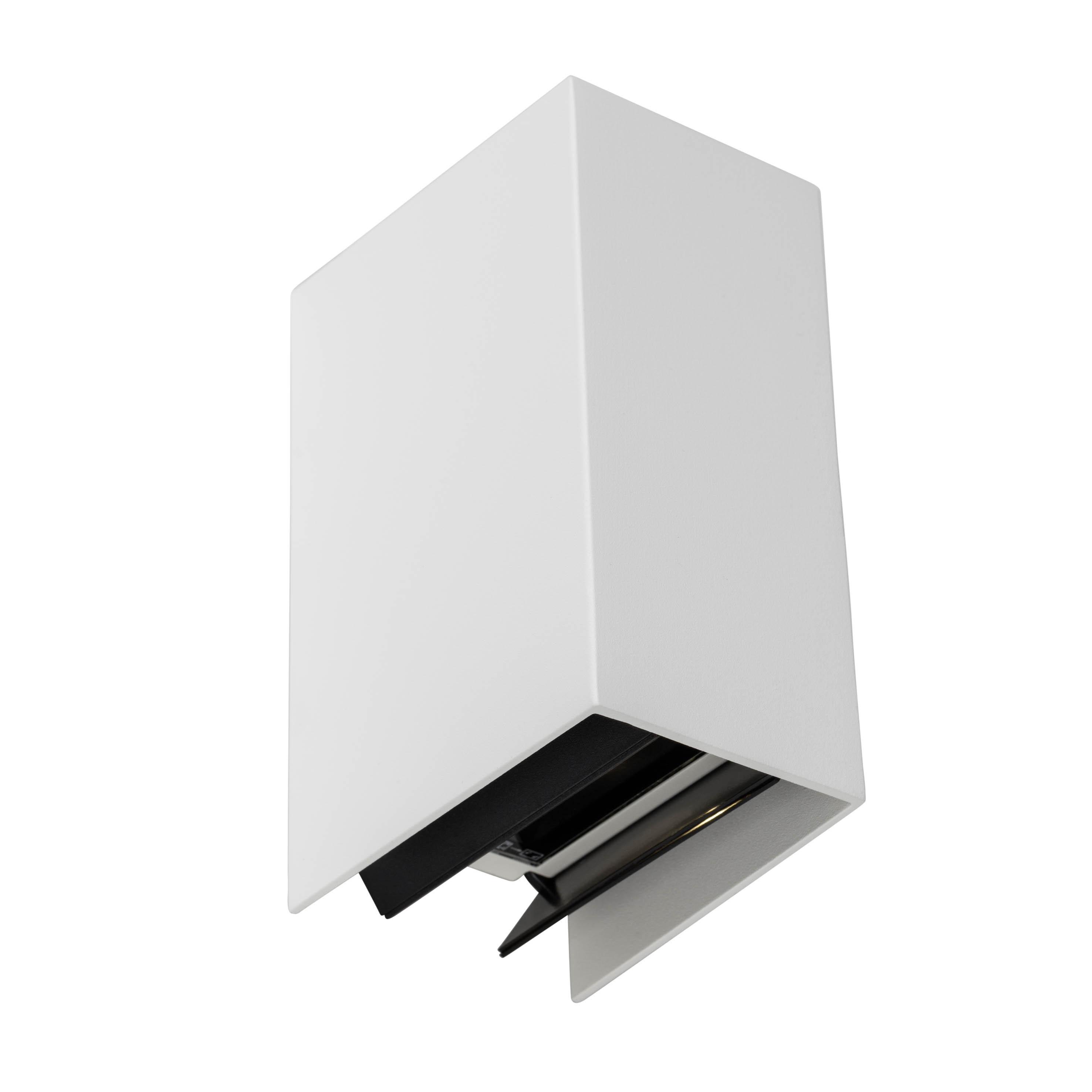 AEG Adapt LED Außenwandleuchte 2flg weiß