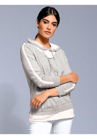 Alba Moda Pullover mit Kapuze kaufen