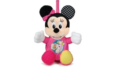 Clementoni® Plüschfigur »Baby Clementoni Disney Baby Minnie Leucht-Plüsch«, mit Licht... kaufen
