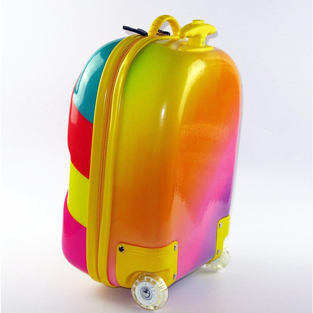 CHIC2000 Kinderkoffer »Boucie, Rainbow«, 2 Rollen, Hartschalen-Trolley