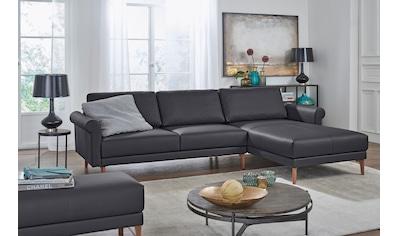 hülsta sofa Ecksofa »hs.450«, im modernen Landhausstil, Breite 262 cm kaufen
